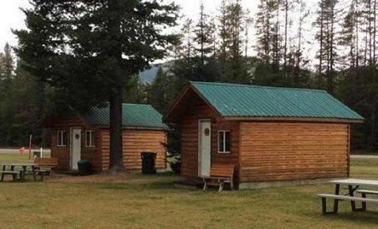 Glacier Cabin at Stanton Creek