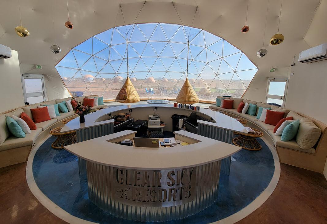 ARIZONA - Welcome Dome Inside